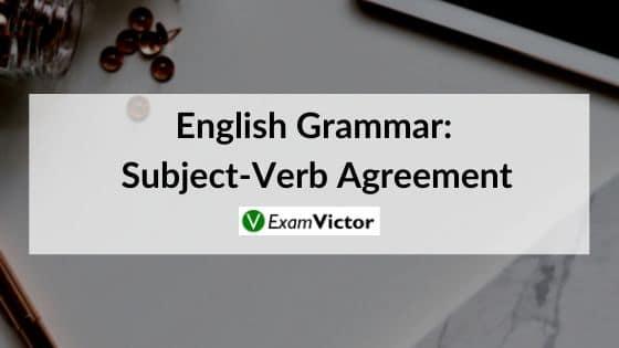 English Grammar: Subject-Verb Agreement