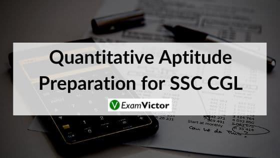 Quantitative Aptitude Preparation for SSC CGL