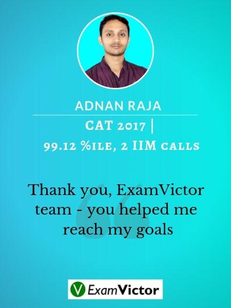 Adnan ExamVictor student CAT